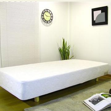 【送料無料】スプリングが裏表使用できるマットレスベッド(シングル) 【インテリア 家具ベッド】 / kagoo(カグー) 家具通販のメガサイト/08100CS06-S