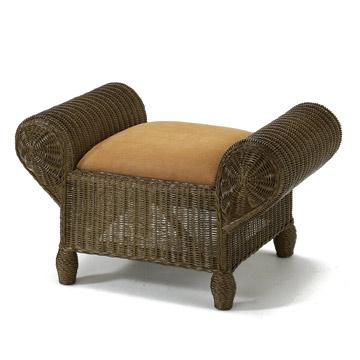【送料無料】【アジアン家具】シックなウィッカー編みの籐製スツール(オットマン兼用) 【インテリア 家具椅子】 / kagoo(カグー) 家具通販のメガサイト/06508Y124B