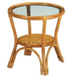【アジアン家具】ガラストップ円形テーブル 【インテリア 家具テーブル】 / kagoo(カグー) 家具通販のメガサイト/O39T31