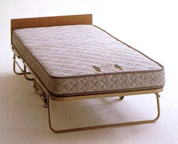 キャスタ付き高級折りたたみベッド (カテゴリ:ベッドルーム
